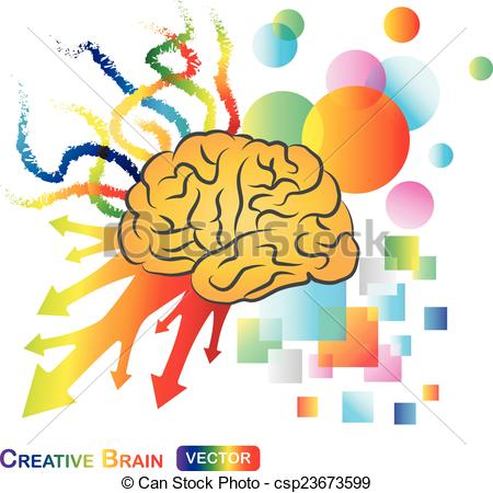 Brain clipart abstract / Brain Abstract EPS Creative