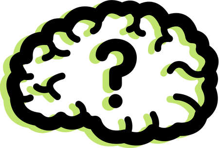 Question Mark clipart huge Clipart brain collection Animated brain