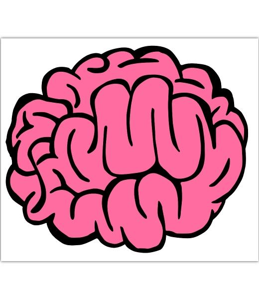 Drawn brain cute #14