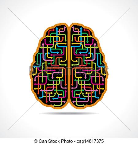 Brains clipart colorful Of colorful Illustration forming forming