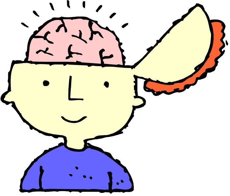 Brains clipart cute cartoon #4