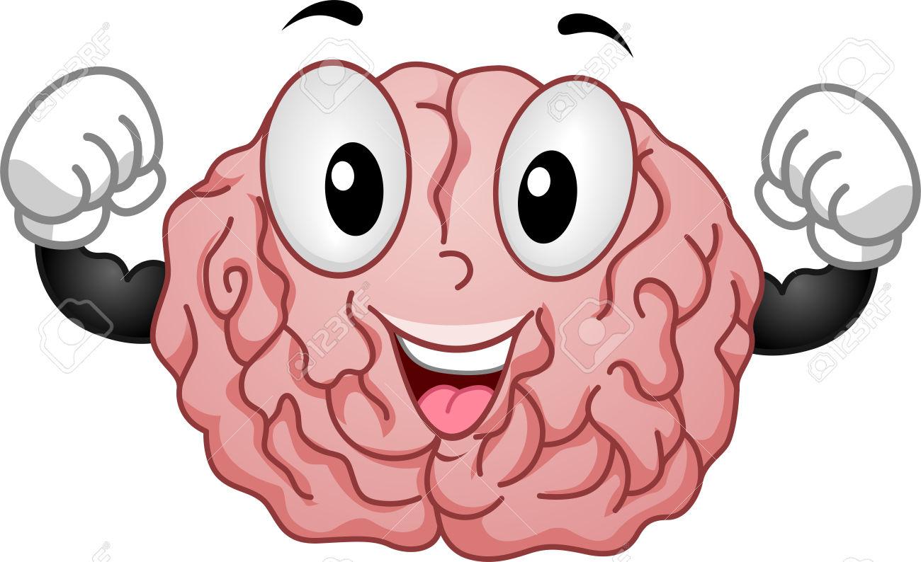 Brains clipart cute cartoon #1
