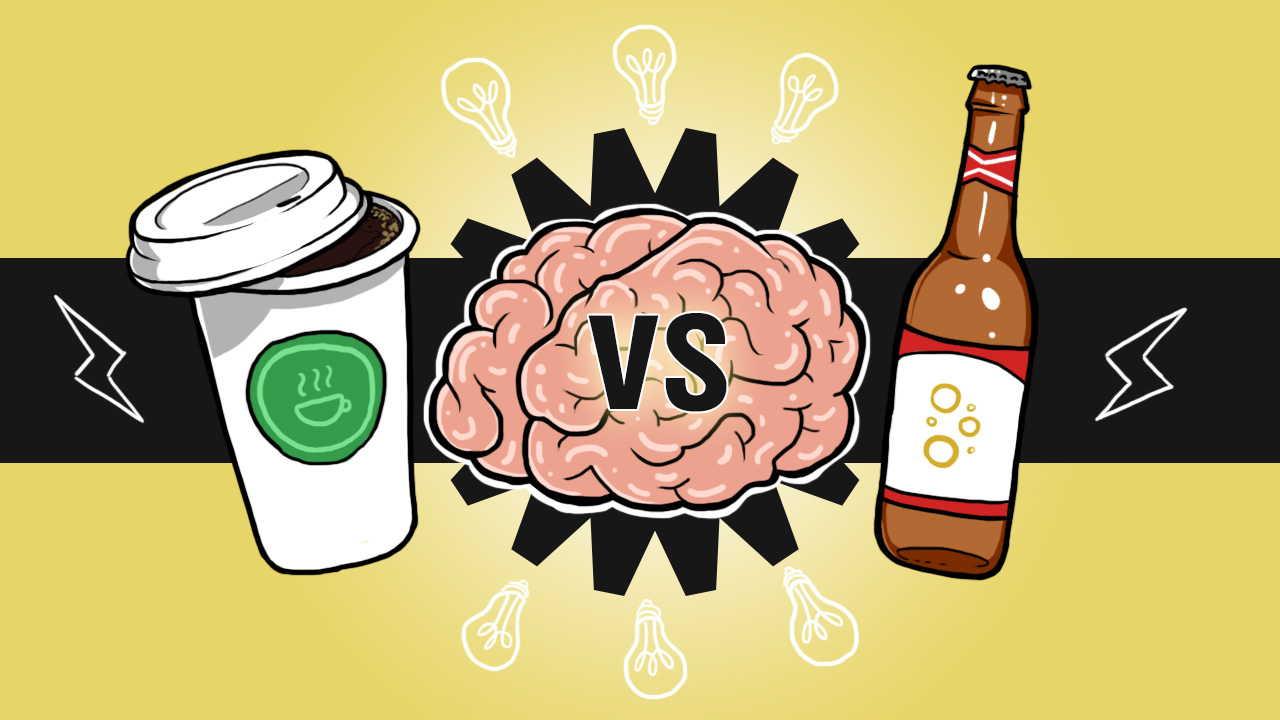 Brains clipart drunk / Coffee Brain StethNews Beer:
