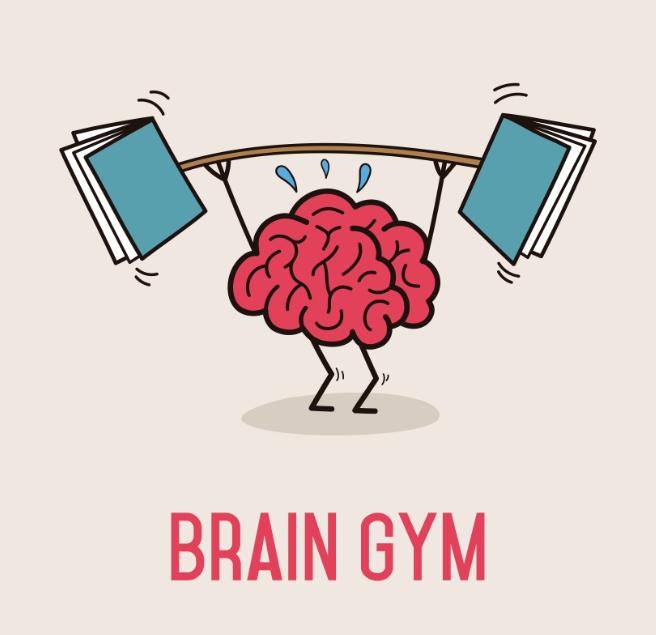 Brains clipart excercise & Related  Gym Related