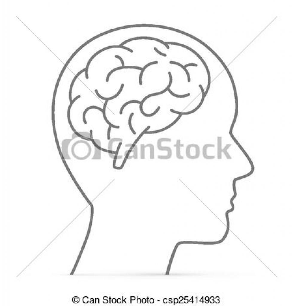 Brains clipart head clipart In Head brain head collection