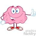 Brains clipart healthy mind Art Happy A Royalty Brain