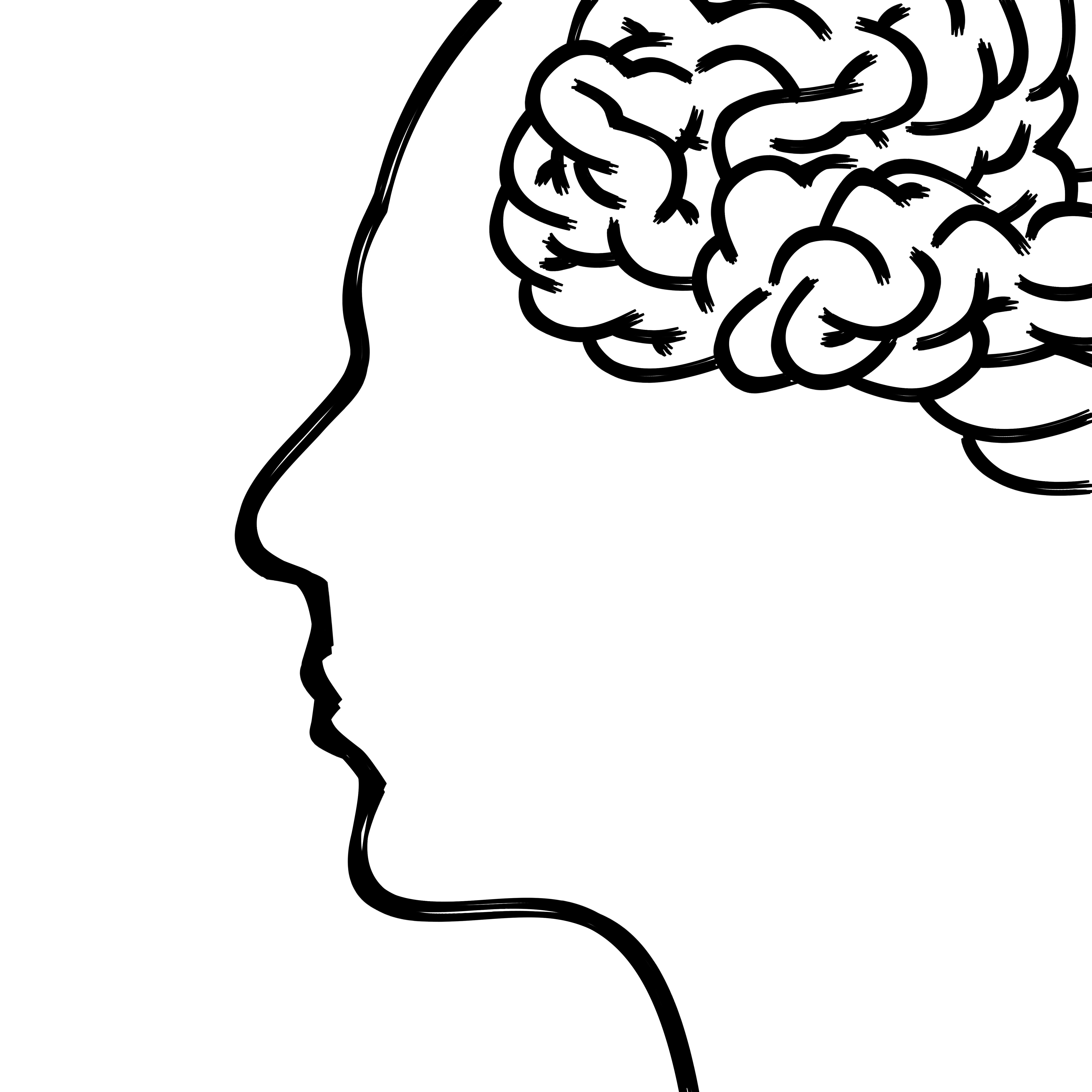 Drawn brain human body #7