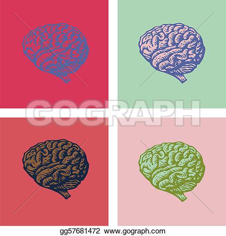 Brains clipart pop art Clipart Drawing  art art