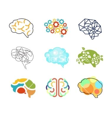 Brains clipart product knowledge Colors Brain depiction and like