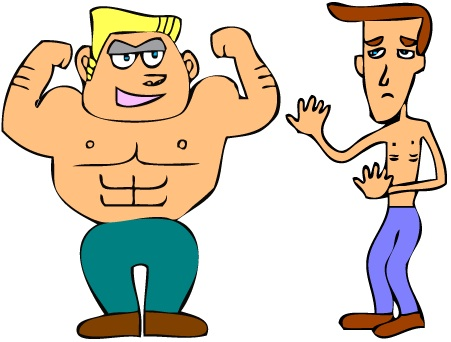 Brains clipart strong person #5