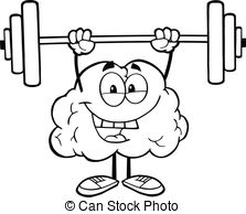Brains clipart strong person #2