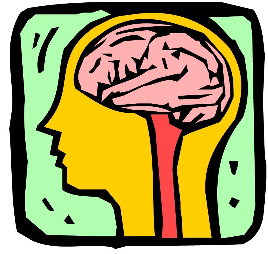 Brains clipart yellow #6