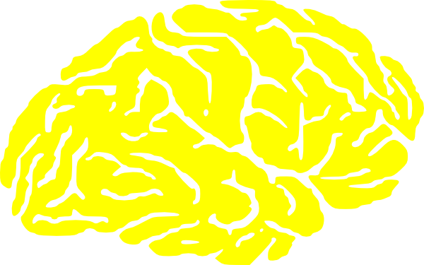 Brains clipart yellow Yellow online  as: image