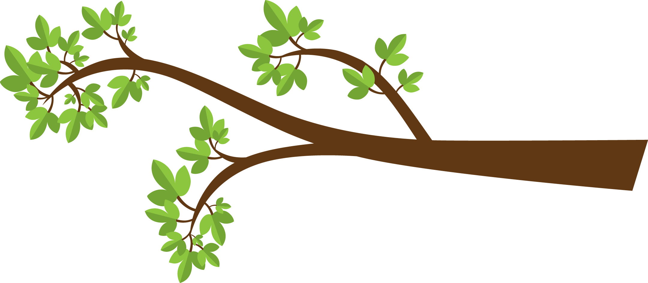 Tree clipart branch a #3