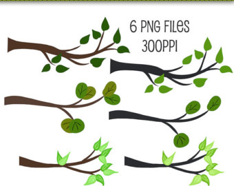 Branch clipart Branches Art Graphics Scrapbooking Branches