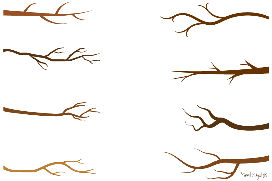 Branch clipart Branches clipart Green branches branches