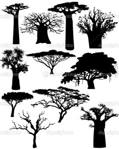 Branch clipart african tree Pinterest Clip tree african Ideas