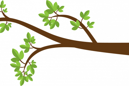 Branch clipart african tree Branches Stock with Storybook tree