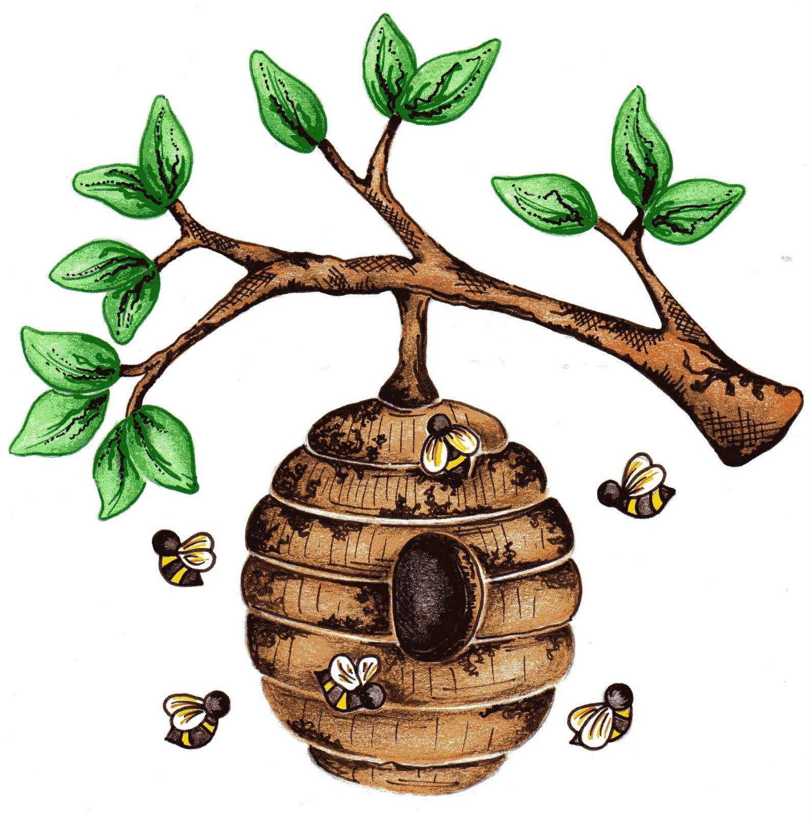 Bee Hive clipart tree clip art Tree Art Clipart Free Art