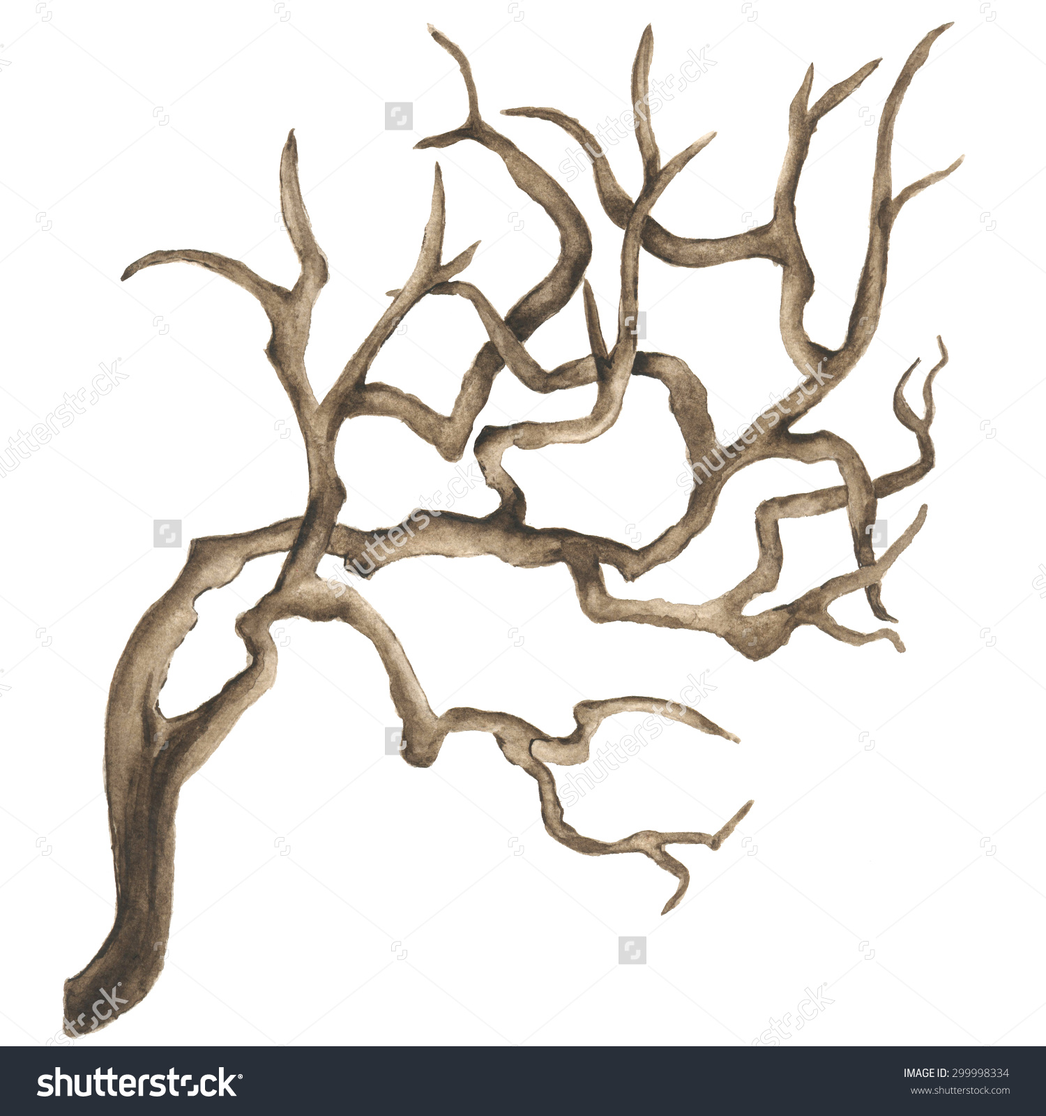 Branch clipart bough Clipart Snag Snag drawings Download