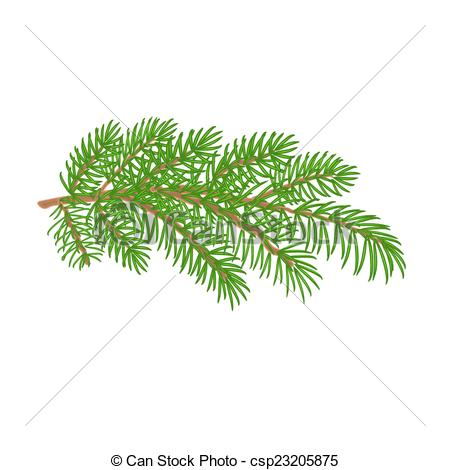 Branch clipart christmas Vector Christmas csp23205875 Christmas tree