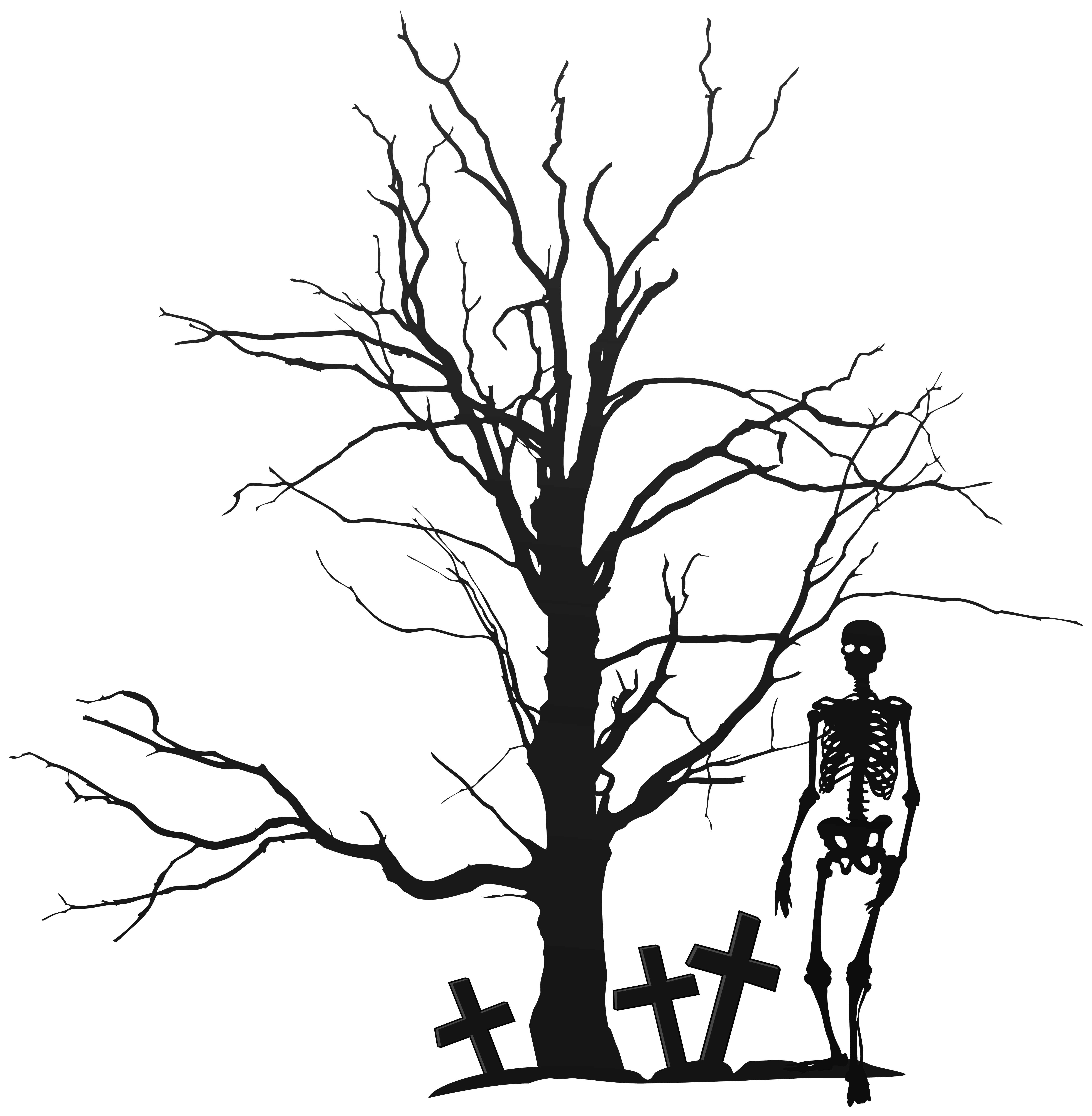 Branch clipart halloween Clip Gallery Skeleton Tags: Clipart
