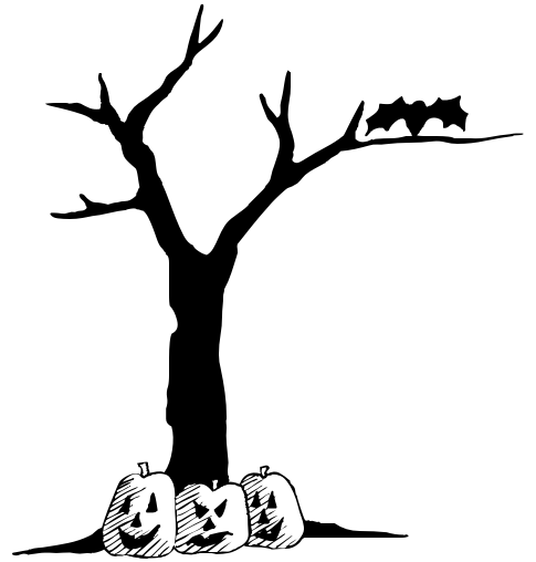 Branch clipart halloween Clipart halloween%20tree%20clipart Clipart Clipart Panda