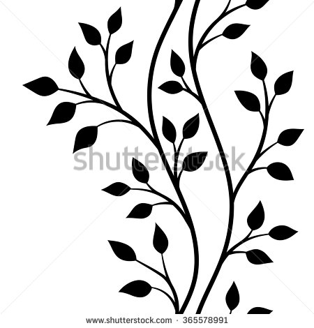 Branch clipart leave illustration Clip & With Stock