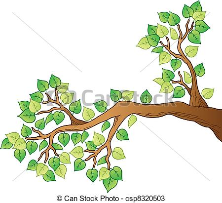 Branch clipart leave illustration  1 tree leaves branch