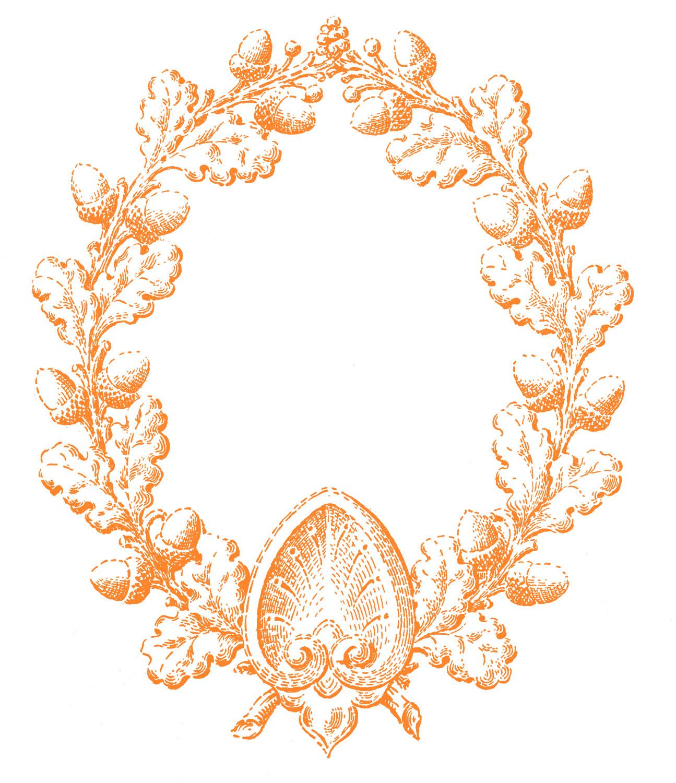 Wreath clipart victorian Clip Art Art Download Victorian