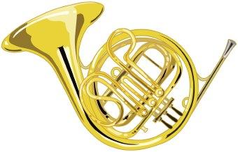 Brass clipart Art French clip  Horn