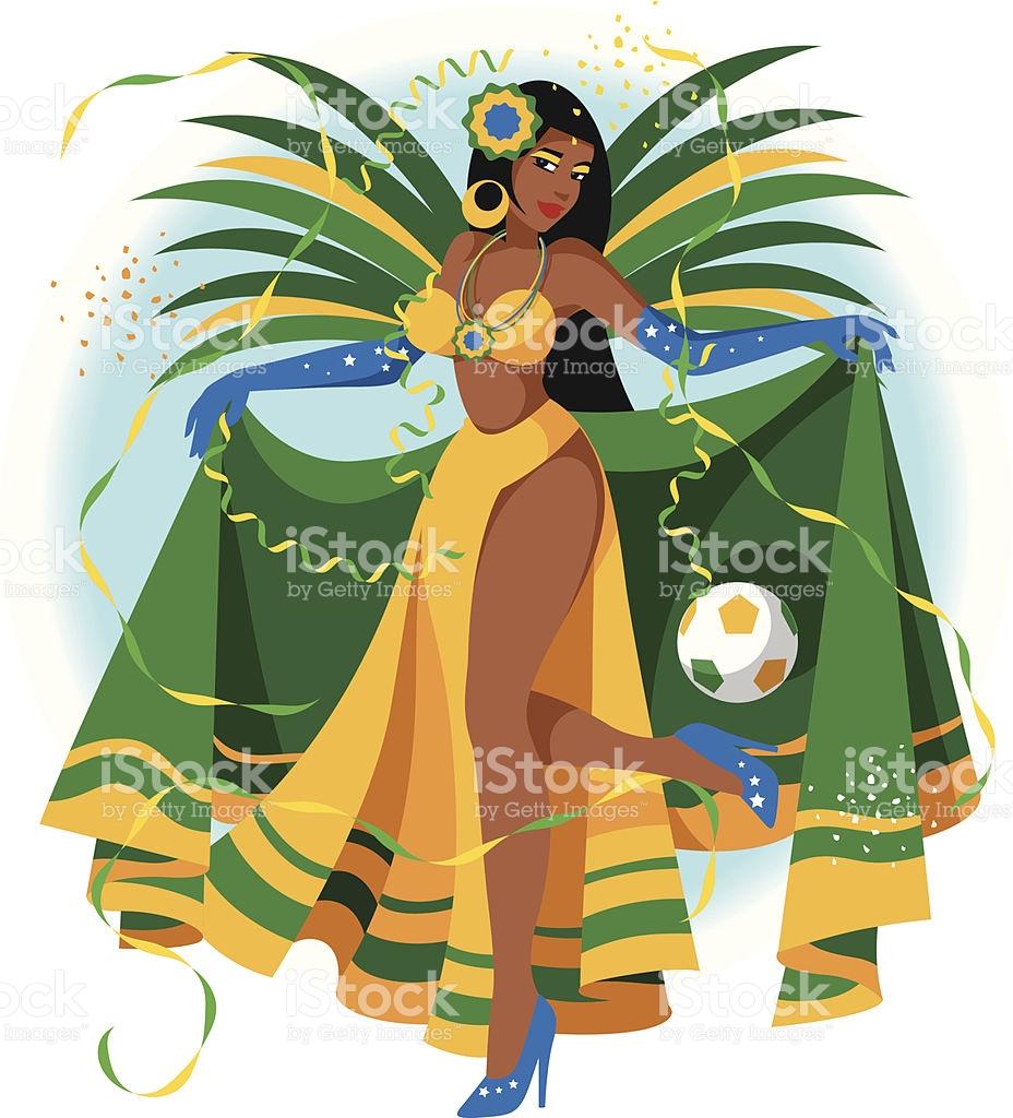 Carneval clipart brazil carnival Clip clipart By Rio Brazilian
