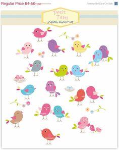 Birthday clipart bird Art animals Bird Clip Birthday