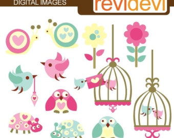 Brds clipart circus Birdcages Clipart February revidevi Critters