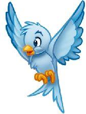 Brds clipart disney Pinterest Google bird Blue Blue