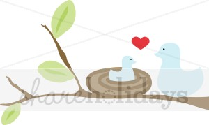 Brds clipart mother and baby Clipart Day Clipart Bird Mama