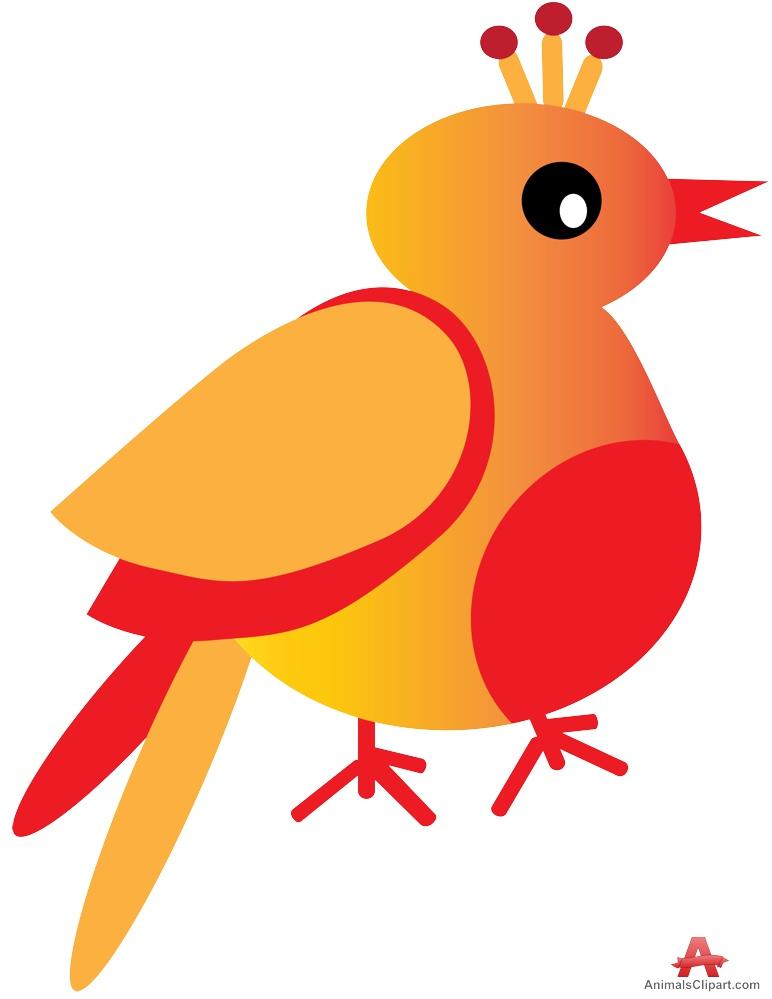 Brds clipart orange Bird Orange Download and Clipart