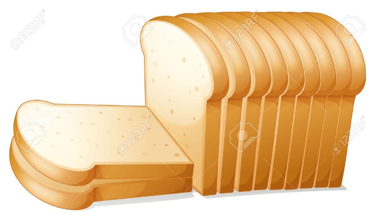 Toast clipart slice bread Bread Bread  clipart #art_05