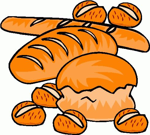 Basket clipart biscuit Bread art clip Bread download
