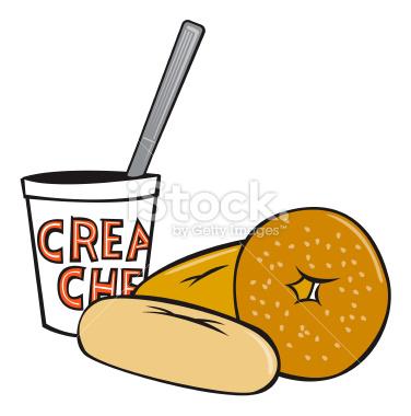 Yogurt clipart food container Clipart Panda Bagel bagel%20clipart 20clipart