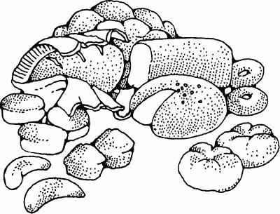 Bread clipart baking bread Clipart Clipart of Domain Public