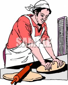 Bread clipart bread baker Loaf Into Clipart Loaf Dough