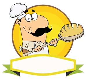 Bread clipart bread baker With Image of Bread Smiling