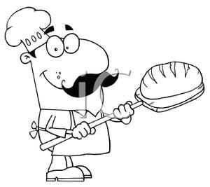 Bread clipart bread baker Clipart Clipart Black Bread And