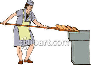 Bread clipart bread baker Free Oven Picture Bakery Clipart