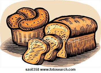 Bread clipart cereal Art loaves From bread 3