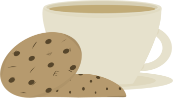 Coffee clipart sandwich Images Cookies Clip Art Coffee