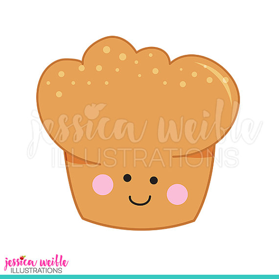 Muffin clipart pastry shop  Baking Muffin Il_570xn Muffin
