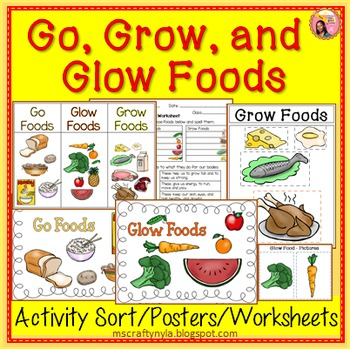 Cereal clipart example go food Grow Go Sorting Glow Glow