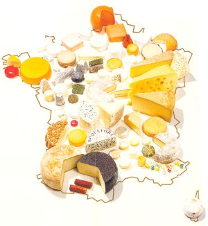 Bread clipart french cheese French French cheese a short